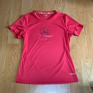 Rossignol dry fit t-shirt fushia